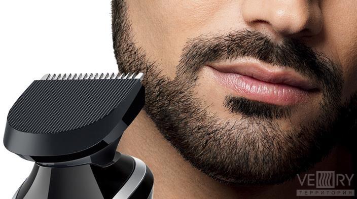 Как сделать красивую бороду триммером